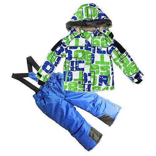 COPOZZ Children Snowsuit Kids Clothes Set Waterproof Ski suit Jacket &Pant 2pcs