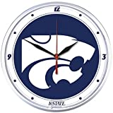 NCAA Kansas State Wildcats WinCraft Official Round Clock