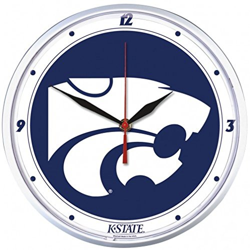 NCAA Kansas State Wildcats WinCraft Official Round Clock by NCAA