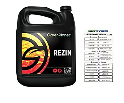 Amazon.com: Green Planet – Nutrientes Rezin 4 litros ...