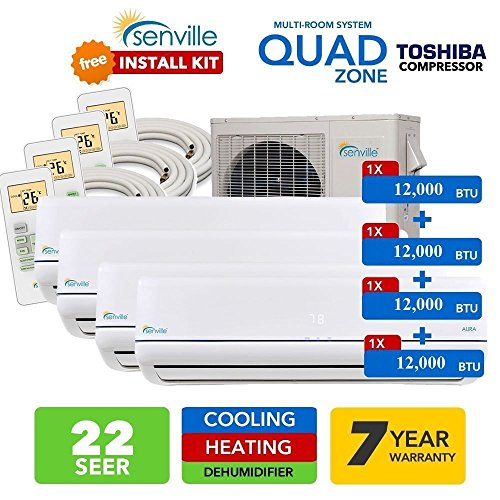 quad mini split heat pump - 4