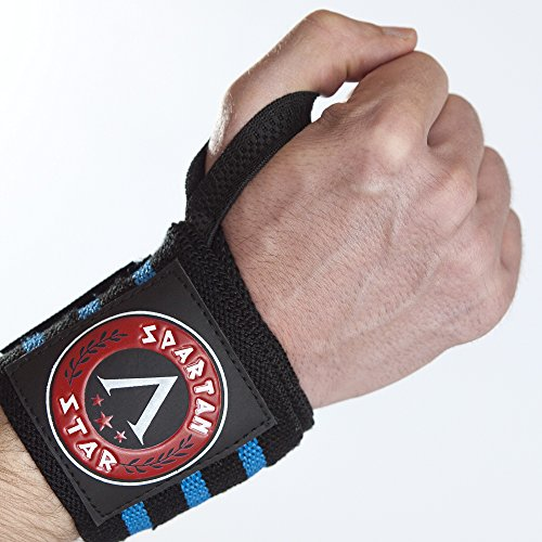 Spartan Star Best Crossfit Wrist Wraps (18