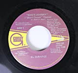 EL DeBARGE 45 RPM WHO'S JOHNNY (Short Circuit Theme) / LOVE IN A SPECIAL WAY