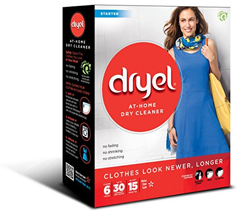 Dryel At-Home Dry Cleaner Starter Kit - 6 Loads