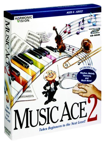 (Harmonic Vision Music Ace 2 Lab Pack Of 5 (Educator Version), Hybrid CD)