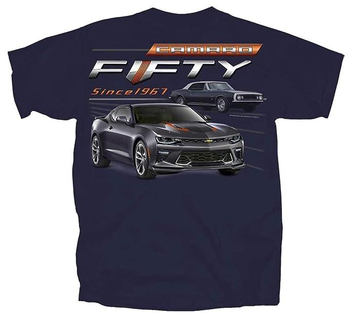 63cc3b42 Amazon.com: Joe Blow T's 1967-2017 Chevy Camaro Fifty Year Muscle Car T- Shirt - by: Clothing