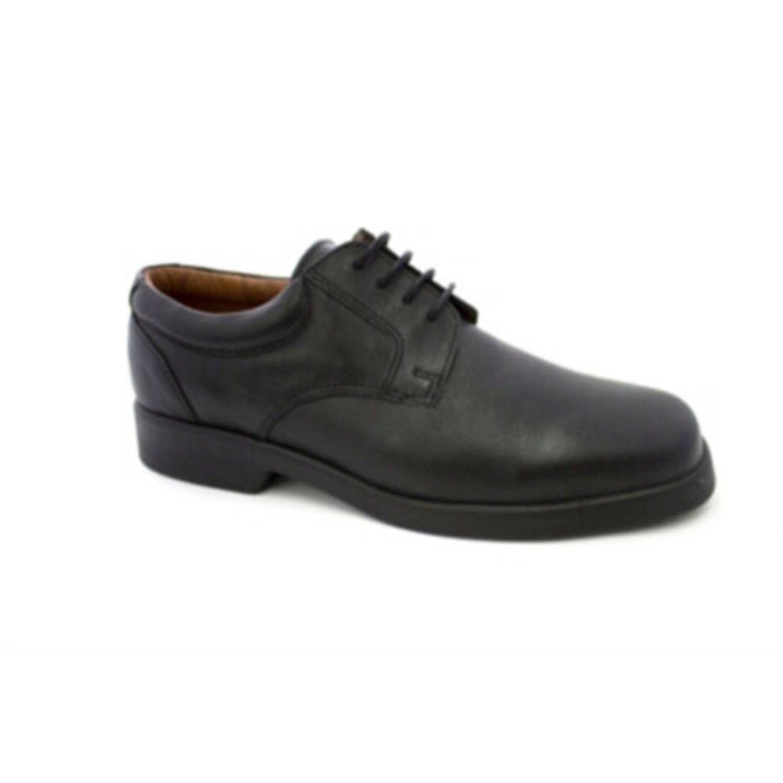 MADE IN SPAIN Zapato Camarero con Cordones Danka EN Negro T1549 46 EU