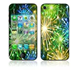 DecalSkin Apple iPhone 4 Skin Cover - Happy New Year Fireworks