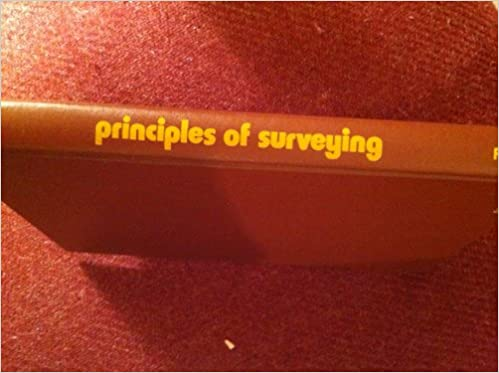 Principles of Surveying, Herubin, Charles A.