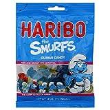 Haribo Gummi Candy The Smurfs 4 OZ (Pack of 24)