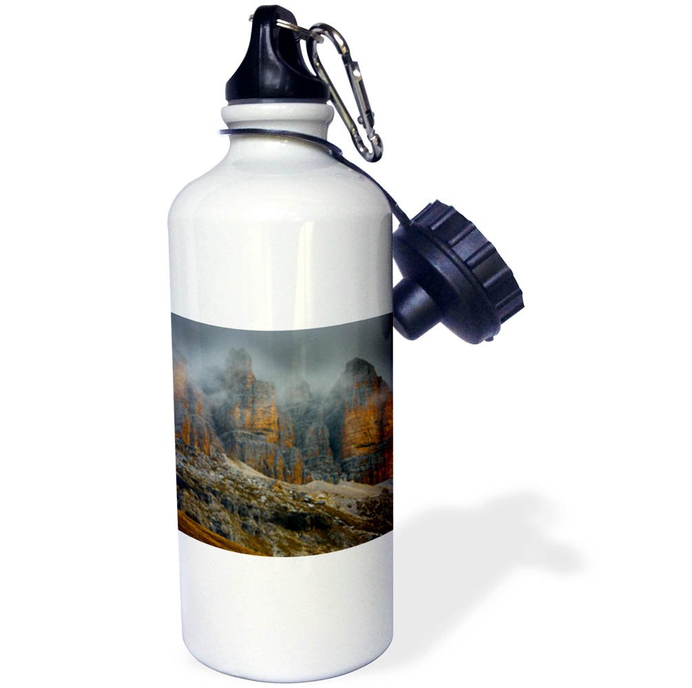 3dRose Danita Delimont - Mountains - Dolomites in clouds, Italy - 21 oz Sports Water Bottle (wb_277538_1)