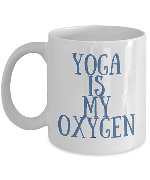Taza de yoga de regalo para los amantes del yoga, yoga, yoga ...