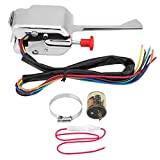 Acouto Street Hot Rod Turn Signal Switch + Flasher 12V Universal for Ford Buick GMC P021-TS-HL101