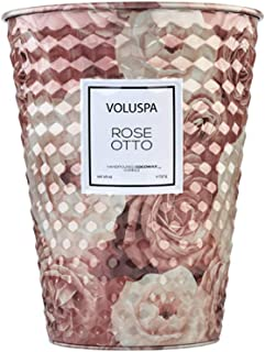 product image for Voluspa Rose Otto 2 Wick Tin Table Candle, 26 Ounces
