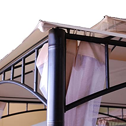 Garden Winds Madaga Gazebo Replacement Canopy RipLock 350 Will Only Fit the Madaga Gazebo, Not Compatible With Any Other Gazebo