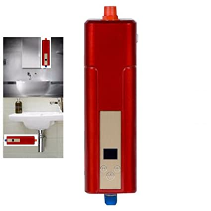 Lovely Zinnor 110V Mini Instant Electric Tankless Hot Water Heater Kitchen  Bathroom Hotel Electrical Faucet Dishwashing Shower