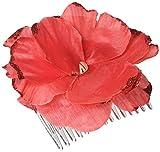#2: Cinco De Mayo Fiesta Party Flower Hair Combs Accessories, Plastic, 1 Piece, Made from Plastic, Mexican Fiesta/ Cinco de Mayo, 3