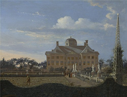 [Oil Painting 'Jan Van Der Heyden The Huis Ten Bosch At The Hague ' Printing On High Quality Polyster Canvas , 10 X 13 Inch / 25 X 33 Cm ,the Best Gym Artwork And Home Decoration And Gifts Is This Cheap But High Quality Art Decorative Art Decorative Prints On Canvas] (Flash Gordon Costume Uk)