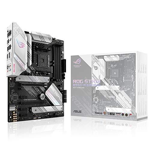 ASUS ROG STRIX B550-A GAMING AMD B550 Ryzen AM4 Gaming ATX moederbord met PCIe® 4.0, teamprestatieniveaus, 2,5 GB…