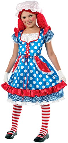 Forum Novelties Rag Doll Girl Costume, Small -