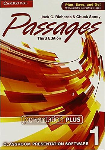 Passages Level 1 Presentation Plus: Jack C. Richards, Chuck Sandy ...
