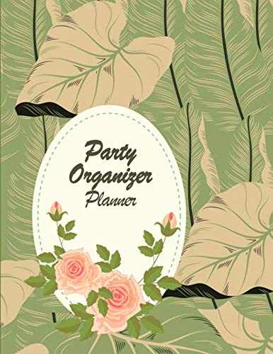 Party Organizer Planner: Happy plan, event planner 120 pages Large Print 8.5