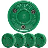 Green Biscuit Snipe 4 Pack| Off-Ice Shooting|Great for Shooting and Street Hockey