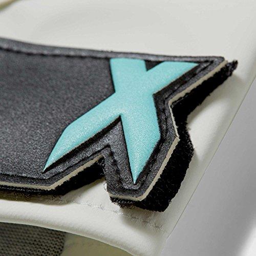 adidas X Lite, Guantes para Hombre gris (gricla / aquene / blanco)