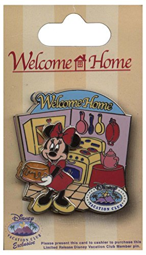 Disney Pin - Disney Vacation Club - Welcome Home - Minnie Mouse