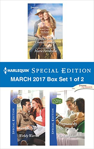 book cover of Harlequin Special Edition March 2017 Box Set 1 of 2