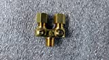 AC-121 Adjustable Pilot Valve 1/8 x 3/16 x 1/8 twin straight