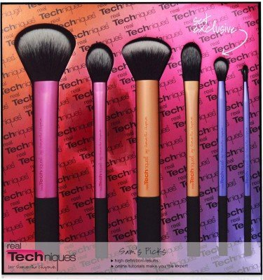 Real Techniques Real Technique Sam's Picks Makeup Brush Set Rt-1415(Pack Of 6)