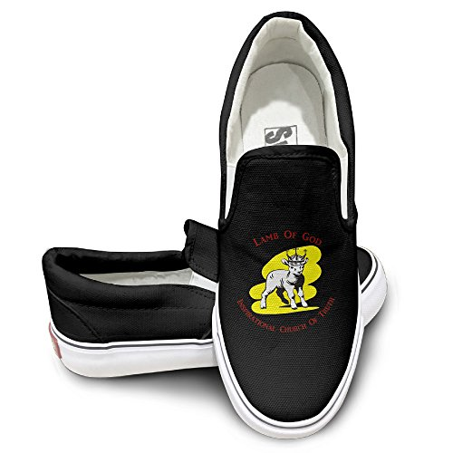 Sound Fury Shark (PTCY Lamb Inspirational Church Of Truth God Oxford Unisex Flat Canvas Shoes Sneaker 36)