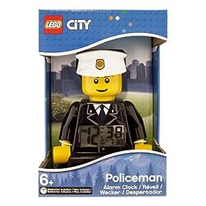 LEGO Despertador con luz Infantil con figurita de policía City 9002274 7