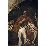 High Quality Polyster Canvas ,the Imitations Art DecorativeCanvas Prints Of Oil Painting  Tristan Luis San Antonio...