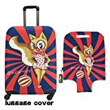 Animal Travel Luggage Cover ONE2 Cartoon Suitcase Protector Review and Comparison