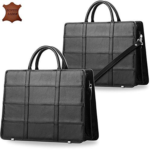 hohe Qualität klassische Aktentasche für Damen Damentasche Henkeltasche A4