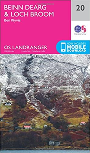 Book pdf downloader Beinn Dearg & Loch Broom, Ben Wyvis (OS Landranger Map) 0319261182 in Danish PDF CHM