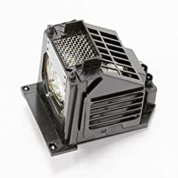 Mitsubishi 915P061010 Replacement Lamp w/Housing 6,000 Hour Life & 1 Year Warranty
