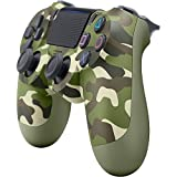 Sony DualShock 4 Wireless Green Camouflage Controller for PS4 (3001544) with Sony Shadow of the Colossus Video Game for PlayStation 4