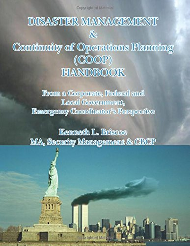 Read Online Disaster Management & Continuity of Operations Planning (COOP) Handbook pdf epub