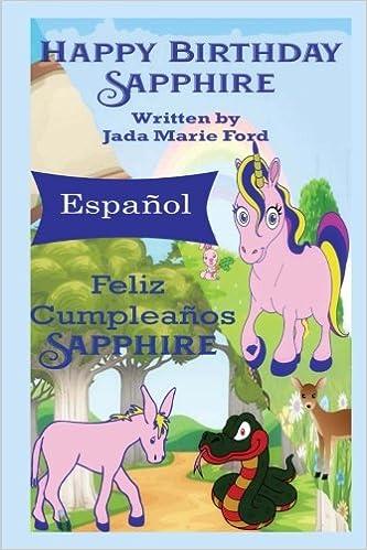 Feliz Cumpleanos Sapphire (Spanish Edition): Jada Marie Ford ...