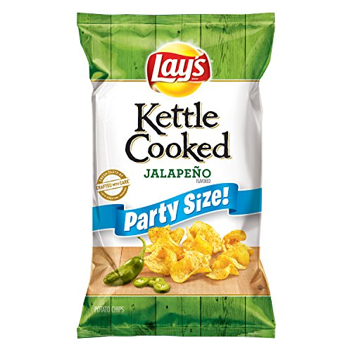 Lay's Kettle Cooked Jalapeno Flavored Potato Chips, 13.5 Ounce (Best Kettle Cooked Chips)