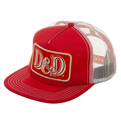 (Dungeons and Dragons Vintage Trucker Snapback Hat)