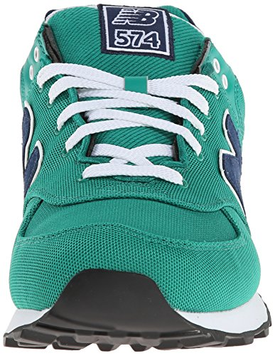 hombre Polo Zapatillas Green 574 Balance Verde Pack para Pique New tXqv0zwaxn