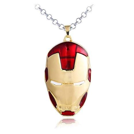 SDFGH Accesorios De Animación Iron Man Colgante 3 D Llavero ...