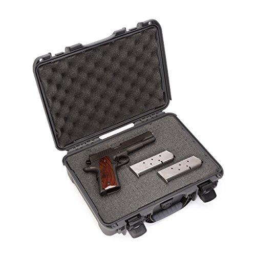 Nanuk 910 Professional Gun/Pistol Waterproof and Graphite