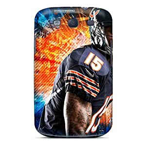 Hot Style AhO8146oksK Protective Case Cover For Galaxys3(chicago Bears)