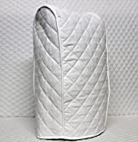 Ninja blender Cover - Quilted Double Faced Cotton, White