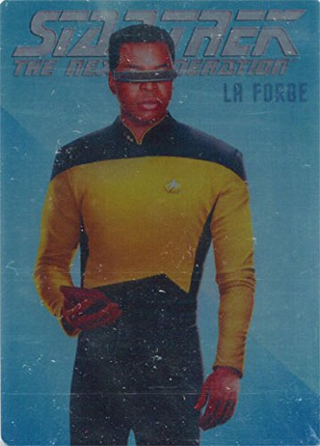 Star Trek TNG Portfolio Prints S1 R9 Rendered Art Metal La Forge 014/100